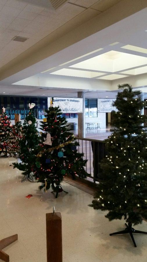 Holiday tree festival
